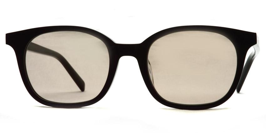 A.D.S.R. / MONK01(b) / Shiny Black - Light Brown Lenses