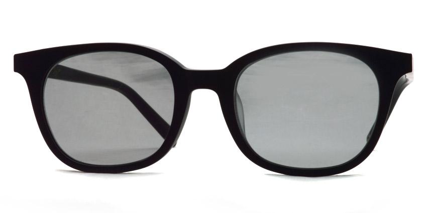 A.D.S.R. / MONK06(b) / Matte Black - Gray Lenses