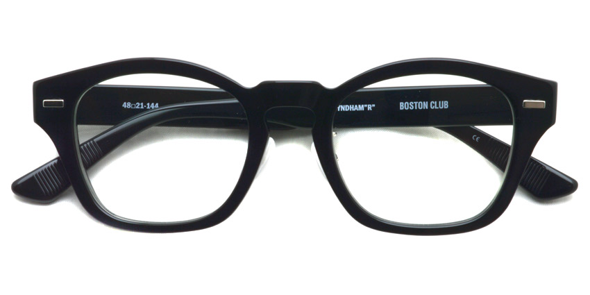 "BOSTON CLUB / WYNDHAM""R"" / C/01 Black / ¥25,000 +tax"