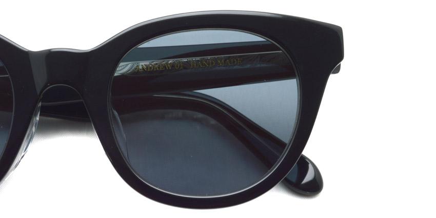 A.D.S.R. / ANDREW01 / Shiny Black & Clear Black - Black / ¥18,000 +tax