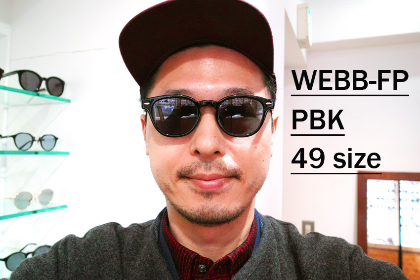 EYEVAN / WEBB-FP / PBK-BK / 49size