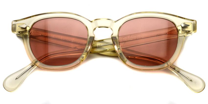 JULIUS TART OPTICAL / AR Sun/ Champagne - Red Brown Lenses / Bridge : 22mm / ¥40,000+tax