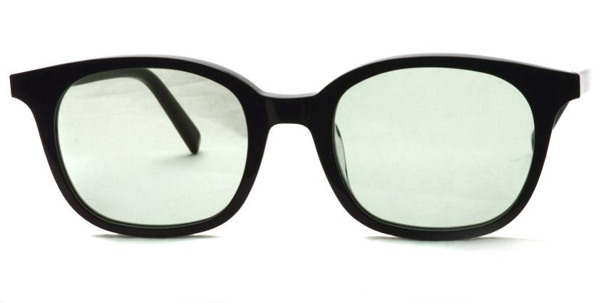 A.D.S.R. / MONK01(c) / Shiny Black - Light Green Lenses / ¥18,000 + tax
