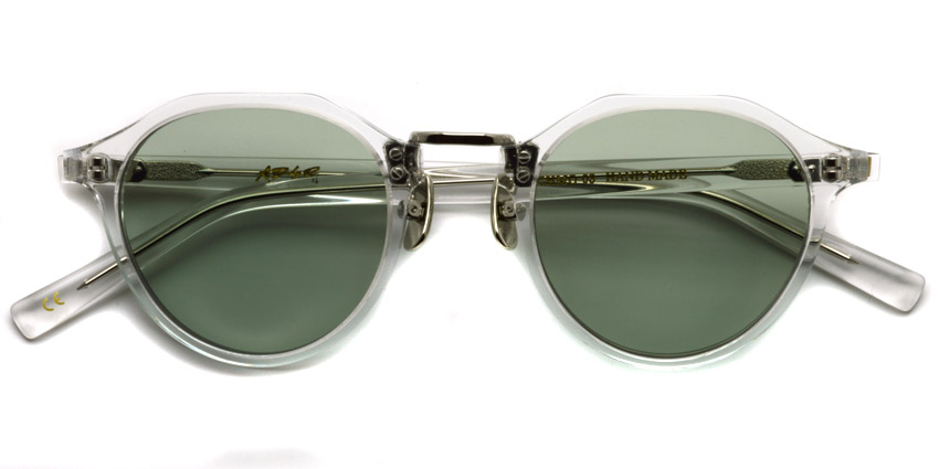 A.D.S.R. / SATCHMO03 (e) / Clear - Gold- Light Green / ¥19,000 + tax