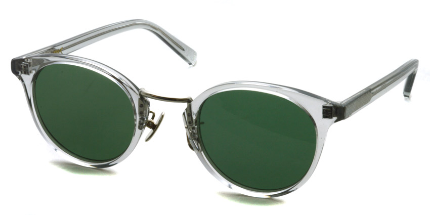 A.D.S.R. / EDDIE06 / Clear Gray / Silver - Dark Green / ¥18,000 +tax