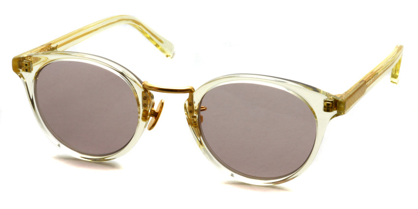 A.D.S.R. / EDDIE07 / Clear Yellow / Gold - Brown Pink / ¥18,000 +tax