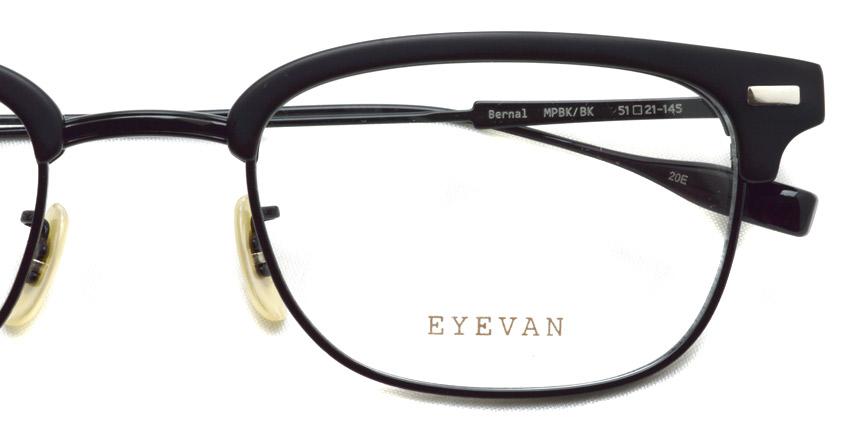 EYEVAN / BERNAL / MPBKBK / ¥38,000+tax