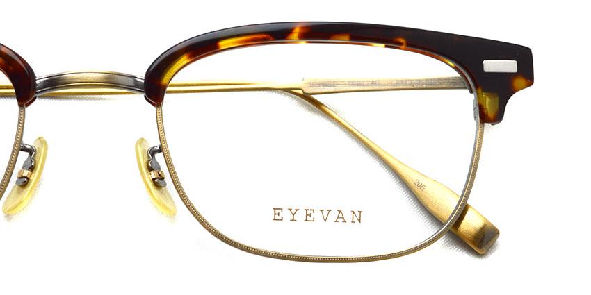 EYEVAN / BERNAL / TORTAG / ¥38,000+tax