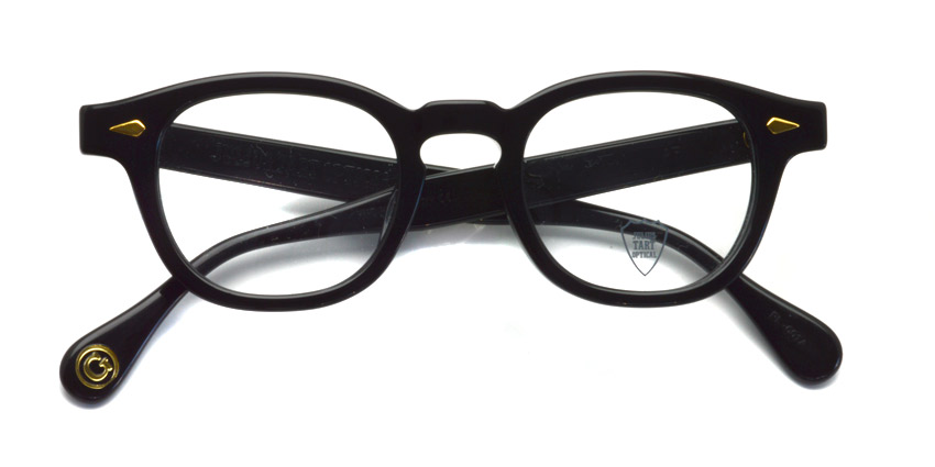 JULIUS TART OPTICAL / AR GOLD / BLACK / Bridge : 22mm / ¥39,000+tax