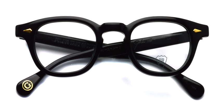 JULIUS TART OPTICAL / AR GOLD / BLACK / Bridge : 24mm / ¥39,000+tax