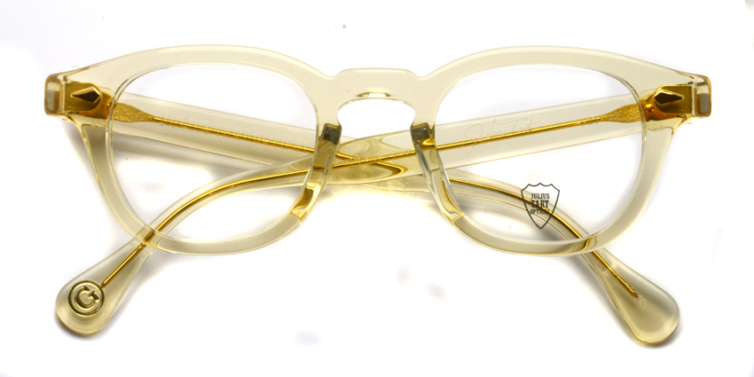 JULIUS TART OPTICAL / AR GOLD / Champagne / Bridge : 24mm / ¥39,000+tax