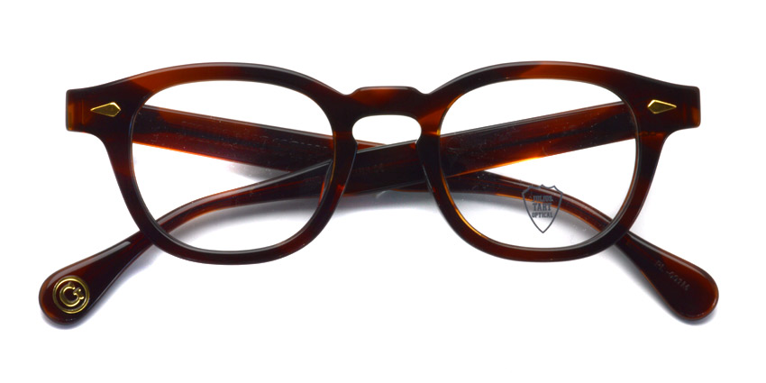 JULIUS TART OPTICAL / AR GOLD / Demi Amber / Bridge : 22mm / ¥39,000+tax