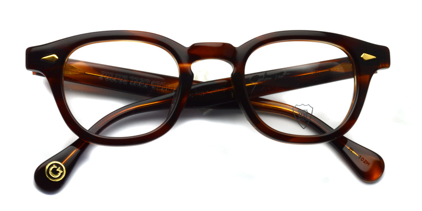 JULIUS TART OPTICAL / AR GOLD / Demi Amber / Bridge : 24mm / ¥39,000+tax