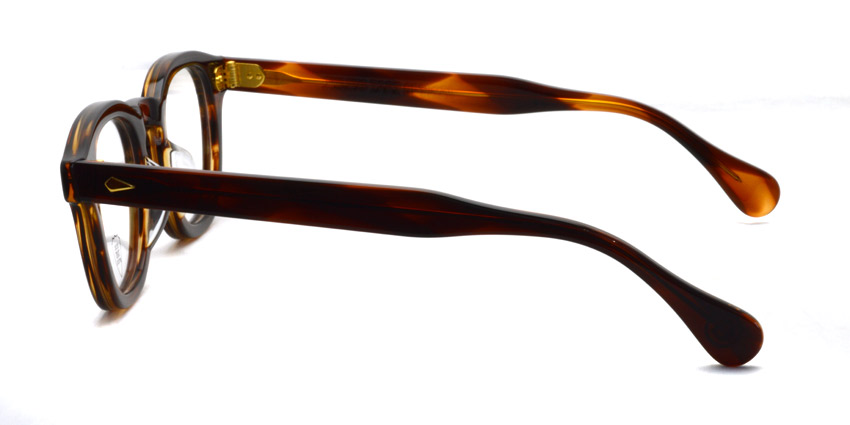 JULIUS TART OPTICAL / AR GOLD / Demi Amber / ¥39,000+tax
