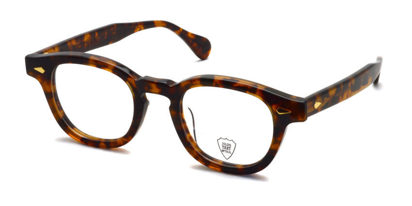JULIUS TART OPTICAL / AR GOLD / TORTOISE / Bridge : 22mm / ¥39,000+tax