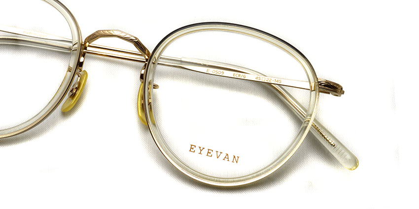 EYEVAN / E-0509 / ECR/G / ¥36,300 (including tax)