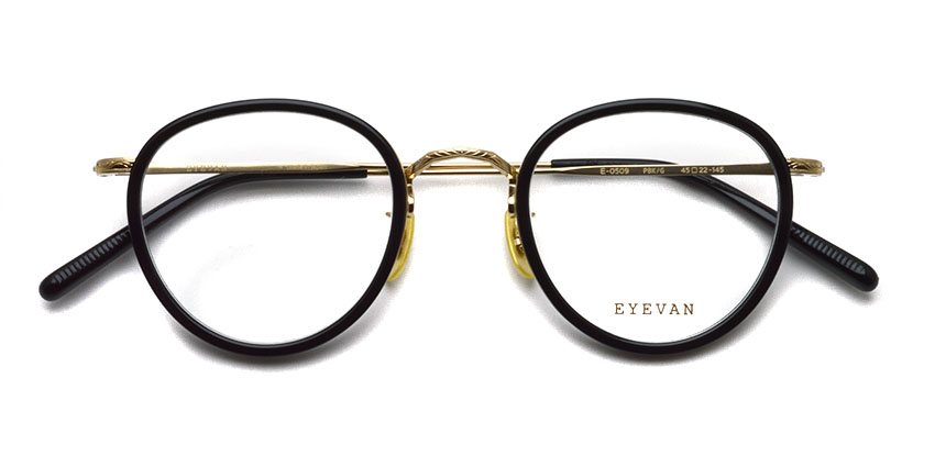 EYEVAN / E-0509 / PBK/G / ¥36,300 (including tax)