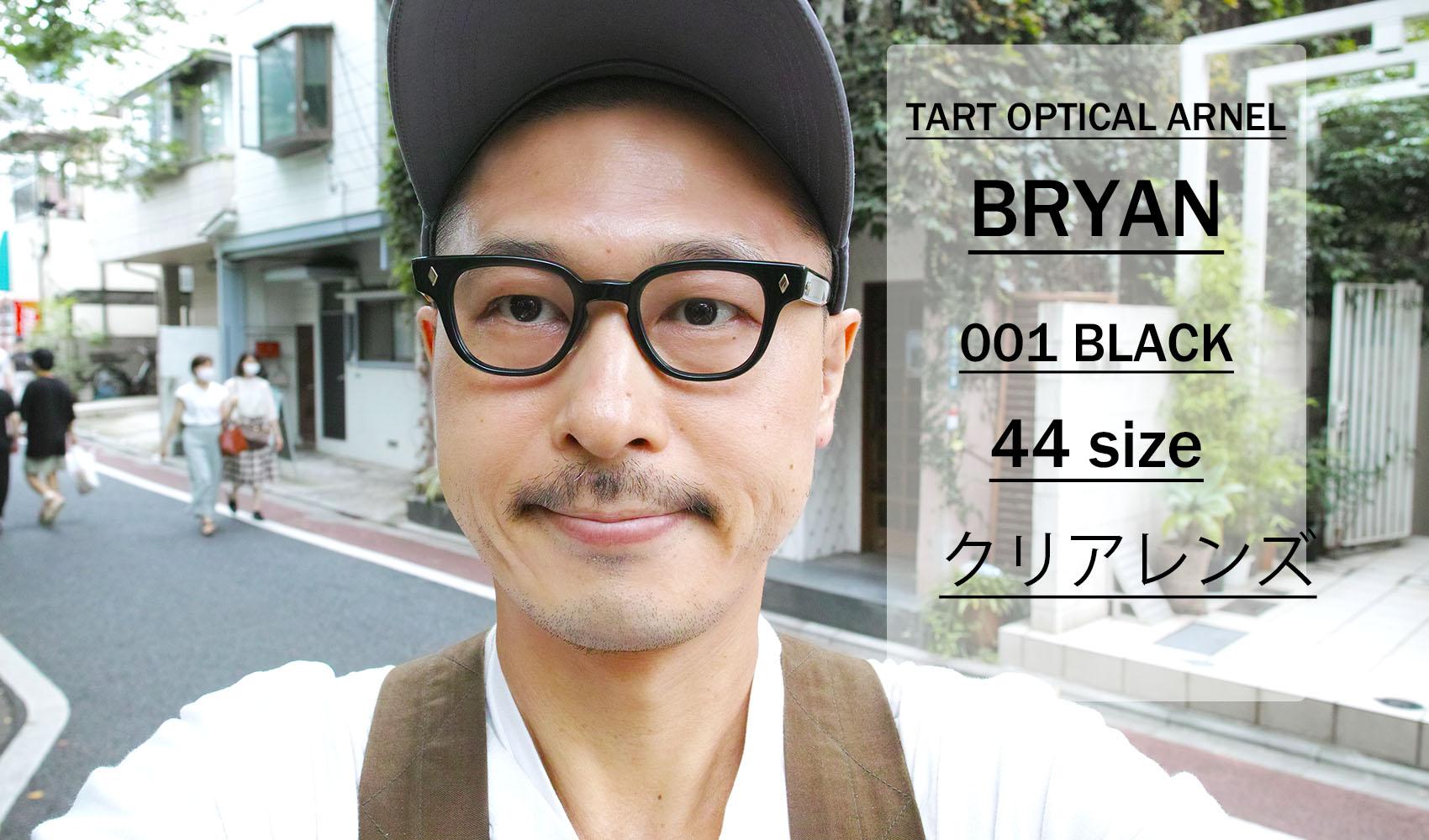 TART OPTICAL ARNEL / BRYAN / 001 Black / 44 size